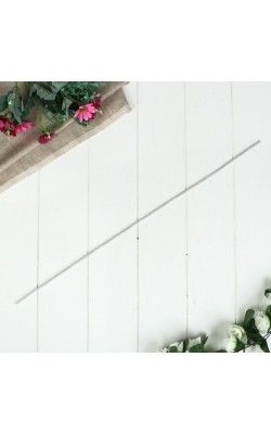 Проволока для изготовления искусственных цветов, белая, d=4 мм, 60 см