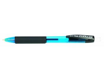 Шариковая ручка автоматическая Click&Go, 3-х гранный корпус, синий стержень, 0,7 мм