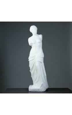 """Фигура """"Венера"""", 120*30*30 см, белая,  гипс, лаковое покрытие"""