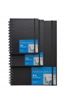 Скетчбук для рисования на спирали DK Art A4, 48 листов