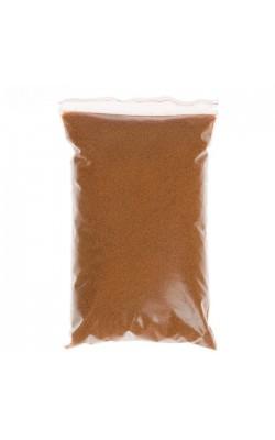 Песок цветной для декора, светло-коричневый, 500 гр