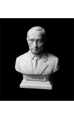 Бюст Путина, гипс