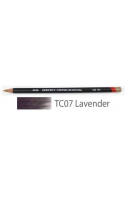 Карандаш угольный Derwent Tinted Charcoal №TC07 Лавандовый