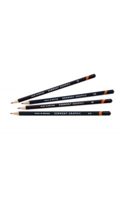 "Чернографитный карандаш ""Derwent"" Graphic, 3B"