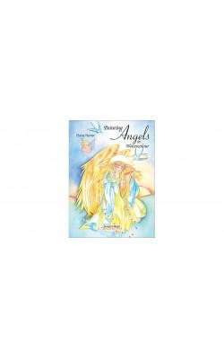 """Книга """"Ангелы: Рисуем акварельными красками."""""""