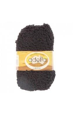 "Пряжа ""Adelia Rita"" 100% нейлон, 145м/50гр (02 черный)"
