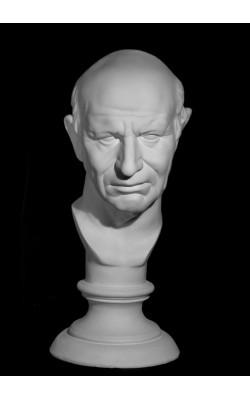 Голова римлянина, гипс