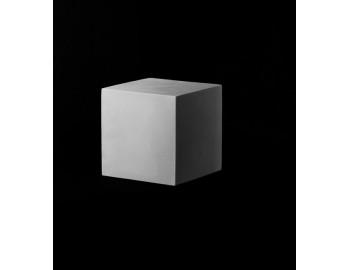 Куб 20 см, гипс