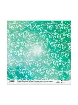 "Бумага для скрапбукинга двусторонняя ""Полевые цветы"", 30.5х30.5 см"