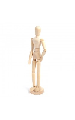 Манекен человека 40 см, женский
