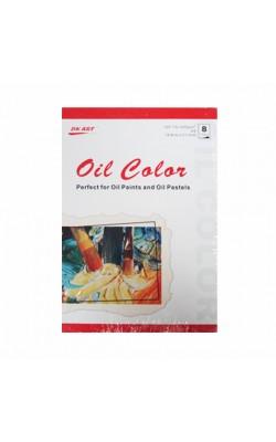Альбом для масляных красок DK19103, А5, 200 г/м2, 8 листов