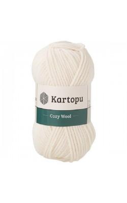 """Пряжа KARTOPU """"Cozy Wool"""" 100г 110м (25% шерсть, 75% акрил) (K025)"""