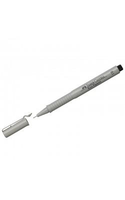 """Ручка капиллярная """"Faber-Castell"""" ECCO PIGMENT, черный, 0,1 мм"""