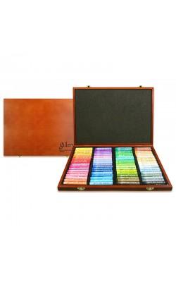 Пастель масляная, 72 цвета, мягкая профессиональная, Mungyo, в деревянной коробке