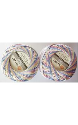 """Пряжа Yarn art """"TULIP (Ирис)"""" 50г., 250м. 100% микрофибра (448 меланж)"""