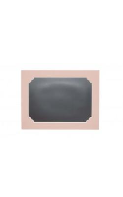 Гибкая магнитно-маркерная доска для холодильника, 17*22*2 см, розовый