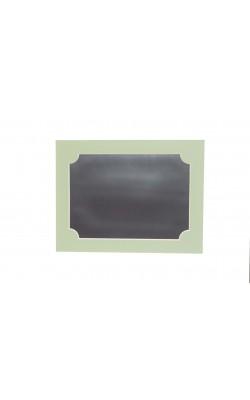 Гибкая магнитно-маркерная доска для холодильника, 17*22*2 см, зелёный