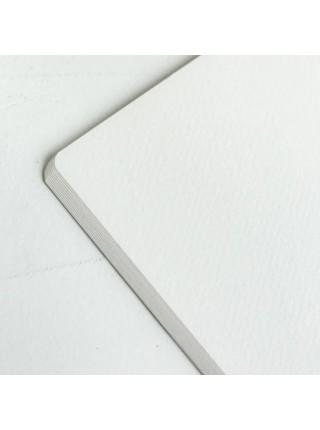 """Скетчбук для акварели """"Малевичъ"""" Veroneze, 25% хлопок, 15*20 см, 200 г/м2, фин, 18 л, салатовый"""