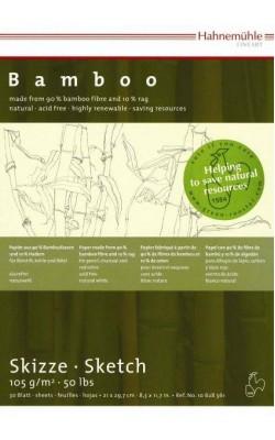 """Альбом-склейка для набросков """"Hahnemuhle"""" Bamboo, 90% бамбук 10% хлопок, А5, 105 г/м2, 30 л"""