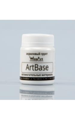 "Грунт ""WizzArt"" ArtBase, белый, 40 мл"