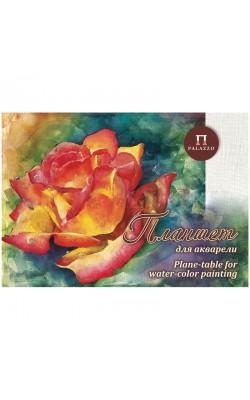 "Планшет для акварели ""Чайная роза"", А2, 200 г/м2, холст, 20 л"