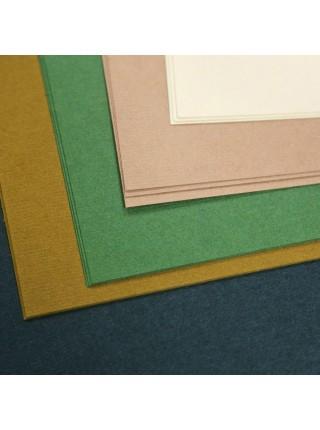 """Планшет для пастели """"Теплые цвета"""", 40% хлопок, А2, 160 г/м2, 5 цветов, 15 л"""