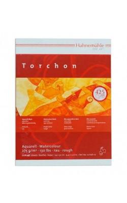 """Альбом-склейка для акварели """"Hahnemuhle"""" Torchon, 24*32 см, 275 г/м2, торшон, 20 л"""