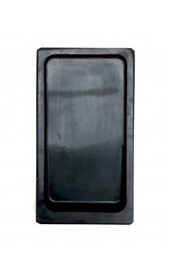 Камень для растирки туши, прямоугольный, без крышки, 7,5*13 см, углубление с наклоном