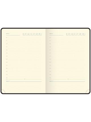 """Ежедневник """"Berlingo"""" xGold, А5, недатированный, золотой срез, кожзам, фиолетовый, 160 л"""
