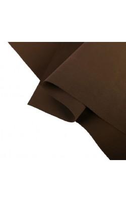 Фоамиран иранский 0,8-1 мм (тёмно-коричневый/191) 60х70 см