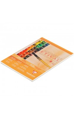 """Альбом для акварели """"Clairefontaine"""" Etival, А5, 300 г/м2, холодный пресс, 10 л"""