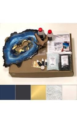 Набор ResinArtBox Geode для рисования эпоксидной смолой, №2