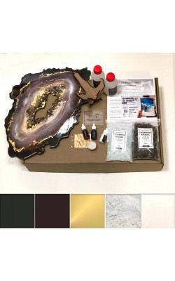 Набор ResinArtBox Geode для рисования эпоксидной смолой, №3