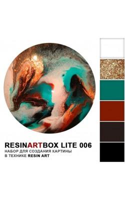 Набор ResinArtBox lite для рисования эпоксидной смолой, №6