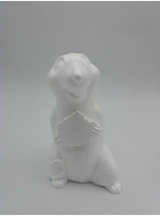 Крыса с сыром (пенопласт)