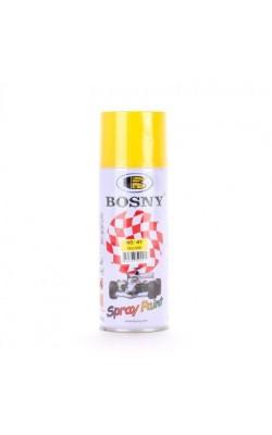 Краска акриловая BOSNY, желтый RAL 1018, №41, 400 мл