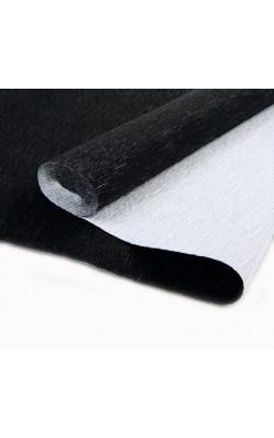 Бумага гофрированная, 50*250 см, 180 г/м2, черный металл, 809
