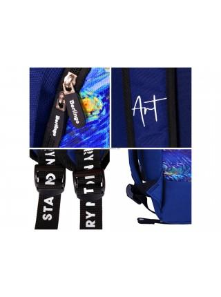 """Рюкзак """"Berlingo"""" Art """"Звёздная ночь"""", 40*29*16 см, 1 отделение, 1 карман, уплотнённая спинка"""