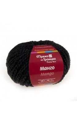 Пряжа Манго (5105, мулине черный)