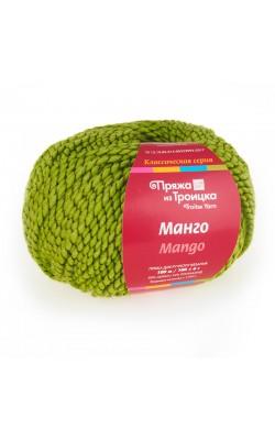 Пряжа Манго (5096, мулине аспарагус)
