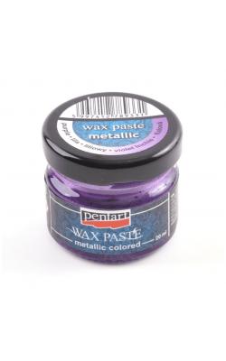 """Восковая паста """"Pentart"""", 20 мл, пурпурный, металлик"""