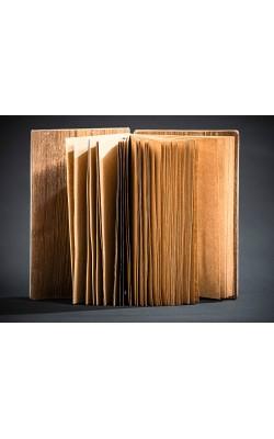 Блок для изготовления скетчбука для зарисовок, ручная работа, блок крафт, обложка из берёзы, 13,5*20 см