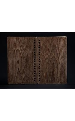 Комплект обложек для изготовления скетчбука, ручная работа, обложка из берёзы, 12*17 см