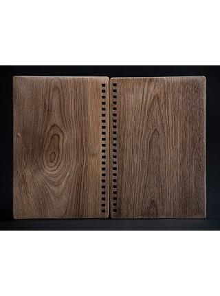 Комплект обложек для изготовления скетчбука, ручная работа, обложка из берёзы, 13,5*20 см