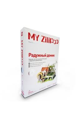 """Конструктор """"My Zilipoo"""" с растениями """"Радужный домик"""""""