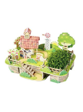 "Конструктор ""Mini Zilipoo"" с растениями ""Моя чудесная ферма"""