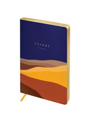 """Записная книжка """"Greenwich Line"""" Utility. Desert, А5, в точку, золотой срез, кожзам, 80 л"""
