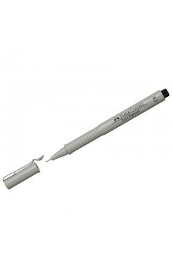 """Ручка капиллярная """"Faber-Castell"""" ECCO PIGMENT, черный, 0,3 мм"""