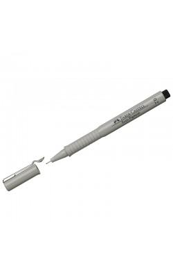 """Ручка капиллярная """"Faber-Castell"""" ECCO PIGMENT, черный, 0,2 мм"""