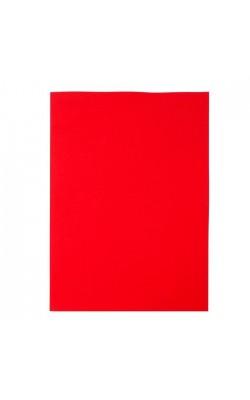 """Фоамиран """"Рукоделие"""" 1 мм, 210*297 мм, красный, 1 лист"""